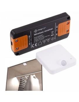 Bezprzewodowy Sterownik Czujnik Ruchu Do Szafy Garderoby PIR Sensor Design Light