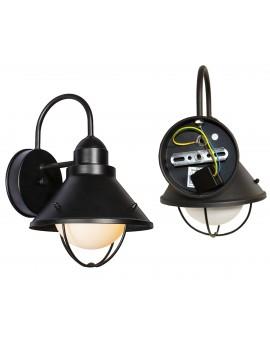 RETRO KINKIET OGRODOWY LED LAMPA ELEWACYJNA E27